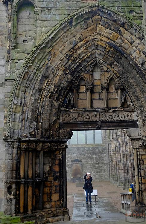 Holyrood Palace Edinburgh Scotland, U.K. July 19, 2014. (Photo by AJ Mast)