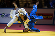 Tal Flicker doing ippon and win the bronze medal<br /> EUROPEAN JUDO CHAMPIONSHIPS 2018 TEL AVIV<br /> Tal Flicker is an Israeli judoka. He competes in the under 66 kg weight category, and won bronze medals in the 2017 World Judo Championships and in the 2018 European Judo Championships