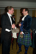 THE EARL OF YARBOROUGH AND HOUSTON MORRIS, The Royal Caledonian Ball 2008. In aid of the Royal Caledonian Ball Trust. Grosvenor House. London. 2 May 2008.  *** Local Caption *** -DO NOT ARCHIVE-? Copyright Photograph by Dafydd Jones. 248 Clapham Rd. London SW9 0PZ. Tel 0207 820 0771. www.dafjones.com.