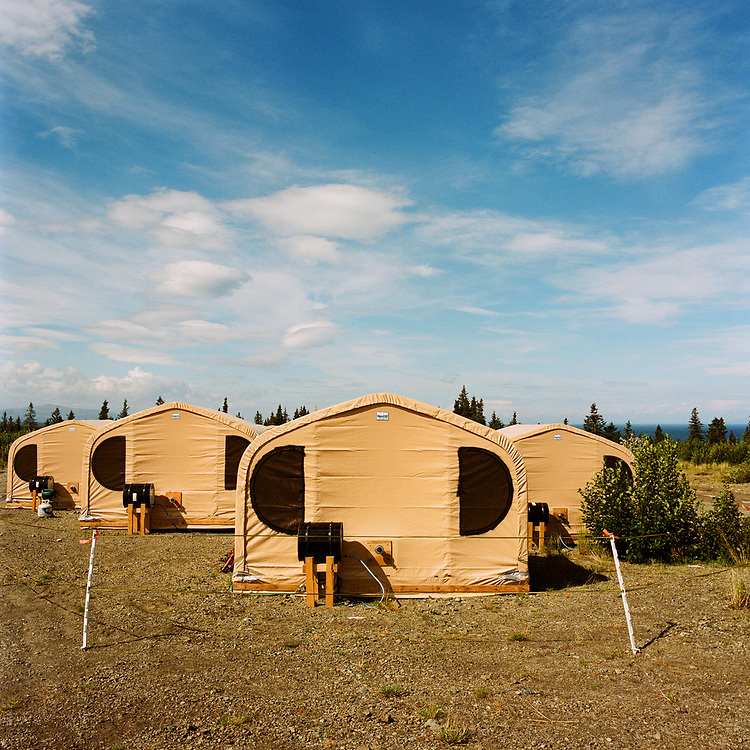 Alaska Peninsula Corporation's &quot;Man Camp&quot; at Kokhanok, Alaska<br />