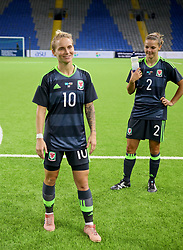 ASTANA, KAZAKHSTAN - Sunday, September 17, 2017: Wales' Jessica Fishlock after beating Kazakhstan 1-0 during the FIFA Women's World Cup 2019 Qualifying Round Group 1 match between Kazakhstan and Wales at the Astana Arena. (Pic by David Rawcliffe/Propaganda)