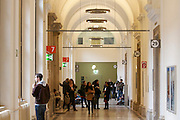 Universities in Vienna, Austria..Universität Wien..Aisles.