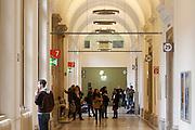 Universities in Vienna, Austria..Universität Wien..Aisles.