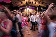 Traditional dancing at the Festival de Cornouaille on Saturday, July 23, 2016 in Quimper, France.