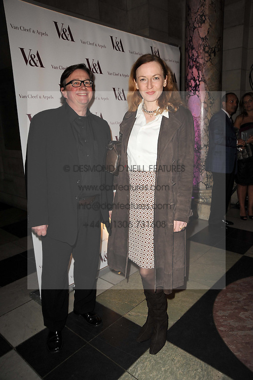 SEBASTIAN CONRAN and GERTRUDE THOME at the opening of the Victoria & Albert Museum's latest exhibition 'Grace Kelly: Style Icon' opened by His Serene Highness Prince Albert of Monaco at the V&A on 15th April 2010.