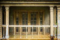 "Tim Burton's abandoned ""Big Fish"" movie set, the town of Spectre."