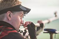 SKYTING<br /> 14. august 2016<br /> Olympiske leker <br /> Rio de Janeiro<br /> 50m rifle , 3 positions , menn<br /> Odd Arne Brekne , Norge <br /> Foto: Astrid M. Nordhaug