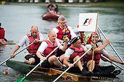 June 8-11, 2017: Canadian Grand Prix. Ross Brawn, Formula One Managing Director of Motorsports and team F1 compete in the F1 raft race