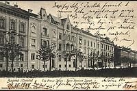 Zagreb (Croatie) : Trg Franje Josipa = Place François Joseph. <br /> <br /> ImpresumZagreb : Naklada Jul. Hühna, [1904.].<br /> Materijalni opis1 razglednica : tisak ; 8,8 x 13,7 cm.<br /> NakladnikJulije Hühn<br /> Mjesto izdavanjaZagreb<br /> Vrstavizualna građa • razglednice<br /> ZbirkaGrafička zbirka NSK • Zbirka razglednica<br /> ProjektPozdrav iz Hrvatske<br /> Formatimage/jpeg<br /> PredmetZagreb –– Trg kralja Tomislava<br /> SignaturaRZG-TOM-21<br /> NapomenaRazglednica je putovala 1904. godine. • Poleđina razglednice namijenjena je samo za adresu.<br /> PravaJavno dobro<br /> Identifikatori000952756<br /> NBN.HRNBN: urn:nbn:hr:238:491085 <br /> <br /> Izvor: Digitalne zbirke Nacionalne i sveučilišne knjižnice u Zagrebu