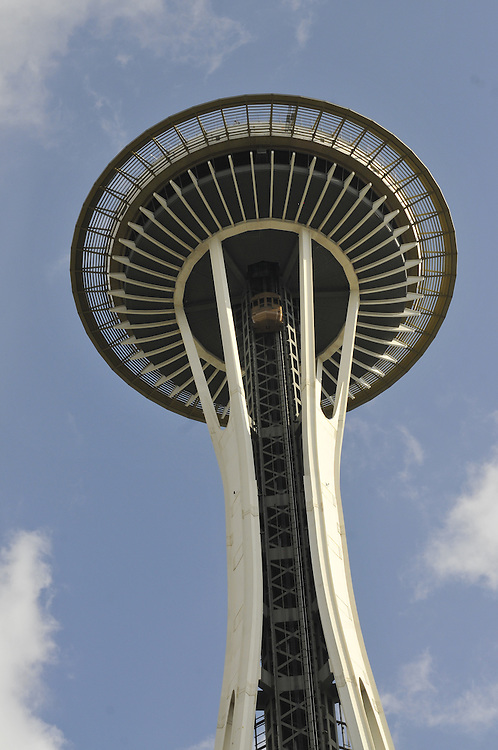 Space Needle (1962) Seattle Center, . Architect: John Graham & Assoc. Seattle, Washington, USA
