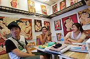 Art Gallery at the Chatuchak Weekend-Market.