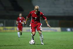 NOVI SAD, SERBIA -Tuesday, August 19th, 2003: Wales' David Pipen in action against Serbia & Montenegro during the UEFA Under 21 European Championship Group 9 Qualifying match at the Karadorde Stadium. (Pic by David Rawcliffe/Propaganda)