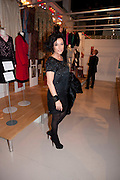 NANCY DELL D'OLIO,  My favorite dress book launch hosted by Susy Menkes and Zandra Rhodes. Fashion Museum. London. In Support of Save the Children. 11 January 2010