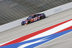 November 3, 2018 - Ft. Worth, Texas, United States of America - Denny Hamlin (11) takes to the track to practice for the AAA Texas 500 at Texas Motor Speedway in Ft. Worth, Texas. (Credit Image: © Justin R. Noe Asp Inc/ASP via ZUMA Wire)