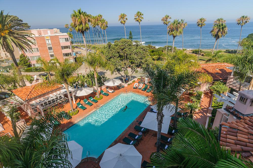 La Valencia Hotel, La Jolla,California Pool