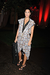 JESSICA DE ROTHSCHILD at the annual Serpentine Gallery Summer Party in Kensington Gardens, London on 9th September 2008.