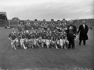 Interprovincial Railway Cup Hurling Final, .Munster v Connacht, .Munster Team.07.06.1959, 06.17.1959, 7th June September,