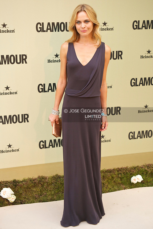 Veronica Blume attends Glamour magazine 10th Anniversary party at Italian Embassy in Madrid, Spain