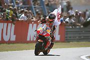 2nd place for #93 Marc Marquez, Spanish: Repsol Honda Team during the Motul Dutch TT MotoGP, TT Circuit, Assen, Netherlands on 30 June 2019.