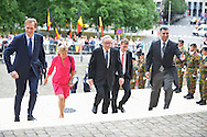 Jean-Claude Junker coming on the Te Deum mass, on the occasion of today's Belgian National Day, at the Saint Michael and St Gudula Cathedral <br /> Brussels, 21 July 2015, Belgium