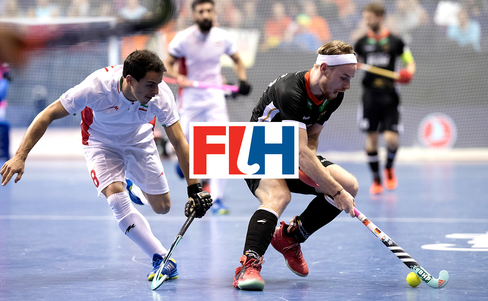 BERLIN - Indoor Hockey World Cup<br /> Semi-final 1: Germany - Iran<br /> foto: BOHLOULI Mohsen and Christopher R&uuml;hr.<br /> WORLDSPORTPICS COPYRIGHT FRANK UIJLENBROEK