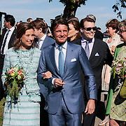 NLD/Rhenen/20120430 - Koninginnedag 2012 Rhenen, Maurits en Marilene van den Broek, Constantijn en partner Laurentien Brinkhorst