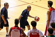 Ettore Messina<br /> Raduno Nazionale Maschile Senior<br /> Allenamento pomeriggio<br /> Cagliari, 02/08/2017<br /> Foto Ciamillo-Castoria/ M. Brondi