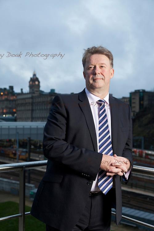 Andrew Kerr, Chief Executive, The City of Edinburgh Council.<br /> <br /> Edinburgh, Feb 2016<br /> Picture by Gary Doak