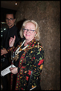 ANGELA HARVEY, DEPUTY LORD MAYOR OF WESTMINSTER  at the preview of LAPADA Art and Antiques Fair. Berkeley Sq. London. 23 September 2014.