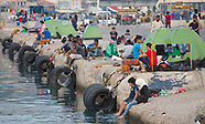 refugees Mytilini port, 16.08.15