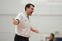 Bristol Flyers head coach, Andreas Kapoulas - Photo mandatory by-line: Alex James/JMP - Mobile: 07966 386802 - 13/03/2015 - SPORT - Basketball - Bristol - SGS Wise Campus - Bristol Flyers v Leicester Riders - British Basketball League