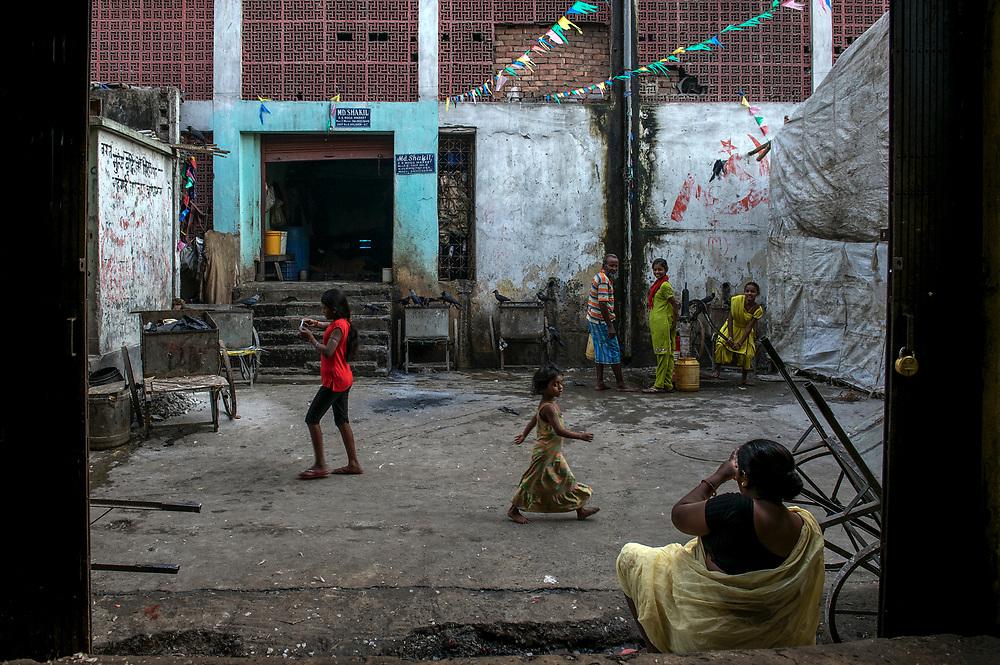 Sudder Street district, Cenral Calcutta, West Bengal, India