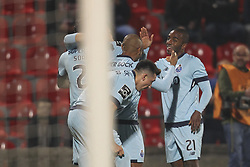 November 25, 2017 - Aves, Guimaraes, Portugal - Porto's Portuguese defender Ricardo Pereira celebrates after scoring goal during the Premier League 2017/18 match between CD Aves vs FC Porto at the Aves stadium in Vila das Aves on November 25, 2017. (Credit Image: © Dpi/NurPhoto via ZUMA Press)