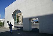 Way of Human Rights, Germanisches Nationalmuseum, Nuremberg, Bavaria, Germany