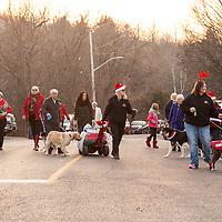 Castelton's 3rd annual Santa Claus Pet Parade