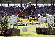 Meredith Michaels Beerbaum - Checkmate<br /> World Equestrian Festival, CHIO Aachen 2012<br /> © DigiShots