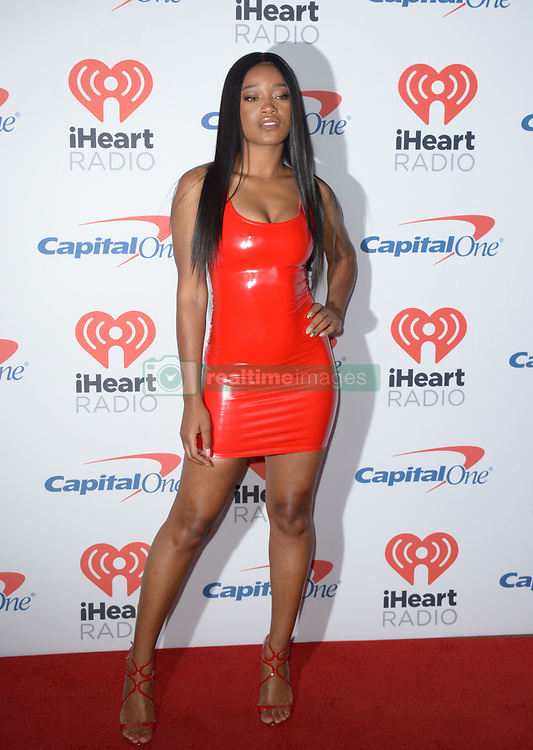 September 23, 2017 - Las Vegas, Nevada, United States of America - Keke Palmer attends the  2017 iHeart Radio Music Festival  on  September 23, 2017  at T-Mobile  Arena  in Las  Vegas , Nevada (Credit Image: © Marcel Thomas via ZUMA Wire)