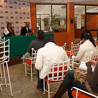 TOLUCA, México.- Edgar Cerecero López, presidente de la Confederación Patronal en el Estado de México (COPARMEX)  afirmo que en los últimos tres años las empresas del ramo de la construcción cayeron en un 37%, sobre todo por estar descapitalizadas. Agencia MVT / Crisanta Espinosa. (DIGITAL)