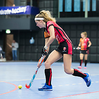 ROTTERDAM - NK Zaalhockey 2018 . halve finale dames Oranje Rood-Laren 3-5. Yibbi Jansen (Oranje-Rood) COPYRIGHT KOEN SUYK