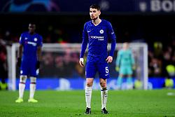 Jorginho of Chelsea - Mandatory by-line: Ryan Hiscott/JMP - 10/12/2019 - FOOTBALL - Stamford Bridge - London, England - Chelsea v Lille - UEFA Champions League group stage