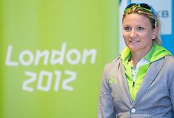 Spela Ponomarenko Janic during presentation of Slovenian Olympic and Paralympic team for London 2012, on July 6, 2012 in Ljubljana's Castle, Ljubljana, Slovenia.  (Photo by Vid Ponikvar / Sportida.com)