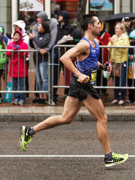 Boston Marathon: Robert Gomez of Portland, Maine