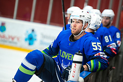 SABOLIC Robert (SLO) during OI pre-qualifications of Group G between Slovenia men's national ice hockey team and Croatia men's national ice hockey team, on February 7, 2020 in Ice Arena Podmezakla, Jesenice, Slovenia. Photo by Peter Podobnik / Sportida