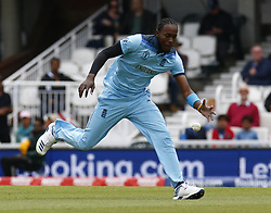 May 27, 2019 - London, England, United Kingdom - Jofra Archer of England.during ICC Cricket World Cup - Warm - Up between England and Afghanistan at the Oval Stadium , London,  on 27 May 2019. (Credit Image: © Action Foto Sport/NurPhoto via ZUMA Press)