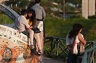 "At the ""Parque del amor"""