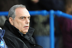 Portsmouth Manager Avram Grant takes charge for his first match. Portsmouth v Manchester United (1-4), Barclays Premier League Fratton Park, Portsmouth, 28th November 2009.