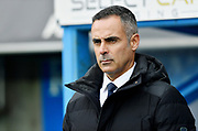 Reading Manager Jose Gomes during the EFL Sky Bet Championship match between Reading and Nottingham Forest at the Madejski Stadium, Reading, England on 12 January 2019.