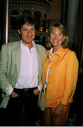 MR & MRS SIMON SLATER, she was Katie Menzies a friend of Diana, Princess of Wales, at a party in London on 9th June 1997.LZC 37