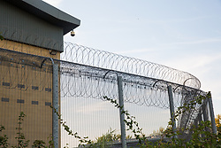 London, UK. 14 September, 2019. Colnbrook detention centre. Combined with its neighbour Harmondsworth, it forms Heathrow Immigration Removal Centre, the largest detention centre in Europe.