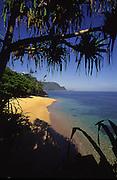 Secret Beach, Princeville, Hanalei, Kauai, Hawaii<br />